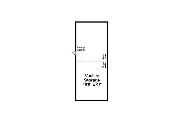 Traditional Floor Plan - Upper Floor Plan #124-659
