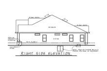 House Plan Design - Mediterranean Exterior - Other Elevation Plan #20-2438
