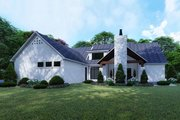 Contemporary Style House Plan - 3 Beds 4.5 Baths 2641 Sq/Ft Plan #923-125