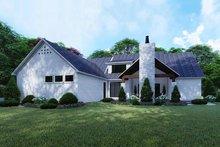 House Plan Design - Contemporary Exterior - Rear Elevation Plan #923-125