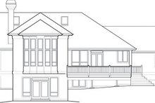 Dream House Plan - Exterior - Rear Elevation Plan #48-604