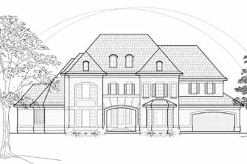 European Exterior - Front Elevation Plan #61-294 - Houseplans.com