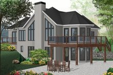 Home Plan - Contemporary Exterior - Front Elevation Plan #23-2168