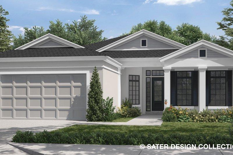 Craftsman Exterior - Front Elevation Plan #930-503