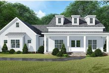 Country Exterior - Front Elevation Plan #923-129