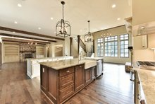 Traditional Interior - Kitchen Plan #927-43