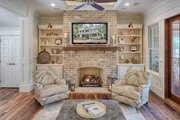 Southern Style House Plan - 3 Beds 4 Baths 3360 Sq/Ft Plan #928-316 Interior - Family Room