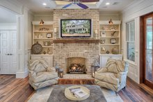 Architectural House Design - Southern Interior - Family Room Plan #928-316