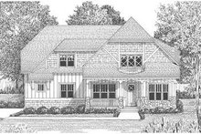 Tudor Exterior - Other Elevation Plan #413-139