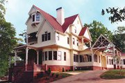 Victorian Style House Plan - 4 Beds 5.5 Baths 6728 Sq/Ft Plan #119-175 Photo