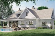 Farmhouse Style House Plan - 4 Beds 3.5 Baths 2925 Sq/Ft Plan #51-1162