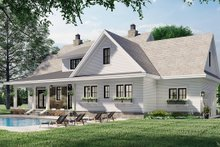 Home Plan - Farmhouse Exterior - Rear Elevation Plan #51-1162