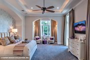 European Style House Plan - 4 Beds 4.5 Baths 6299 Sq/Ft Plan #930-510 Interior - Master Bedroom