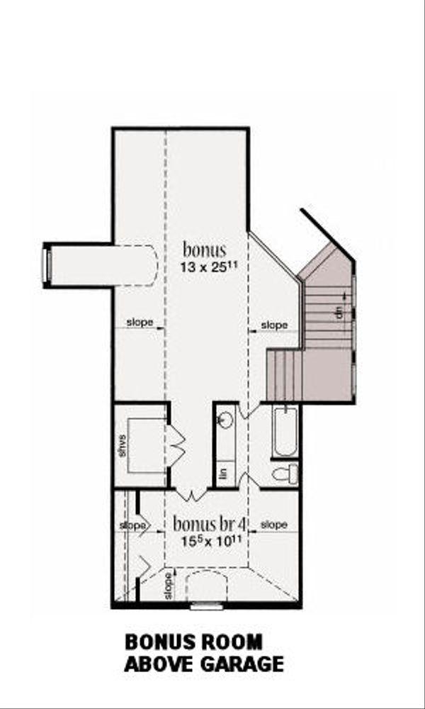 Traditional Floor Plan - Other Floor Plan Plan #36-488