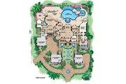 Mediterranean Style House Plan - 6 Beds 6.5 Baths 9870 Sq/Ft Plan #27-278 Floor Plan - Main Floor Plan