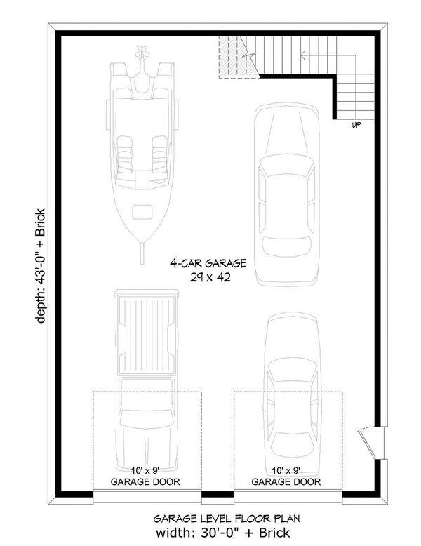 House Design - Traditional Floor Plan - Main Floor Plan #932-356