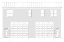 Contemporary Exterior - Rear Elevation Plan #932-51