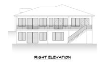 Dream House Plan - Contemporary Exterior - Other Elevation Plan #1066-123
