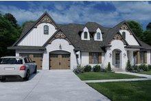 Architectural House Design - Farmhouse Exterior - Front Elevation Plan #120-264
