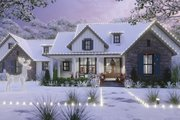 Cottage Style House Plan - 3 Beds 2.5 Baths 1988 Sq/Ft Plan #120-269 Exterior - Front Elevation