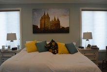 Ranch Interior - Master Bedroom Plan #1060-43