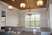 Country Style House Plan - 3 Beds 2 Baths 1900 Sq/Ft Plan #430-56 Interior - Dining Room