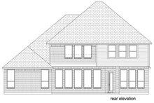 Dream House Plan - Mediterranean Exterior - Rear Elevation Plan #84-620