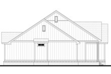 House Blueprint - Left Side Elevation