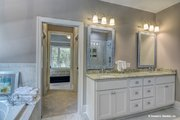 Ranch Style House Plan - 3 Beds 2 Baths 1908 Sq/Ft Plan #929-1013 Interior - Master Bathroom