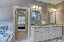 Ranch Interior - Master Bathroom Plan #929-1013
