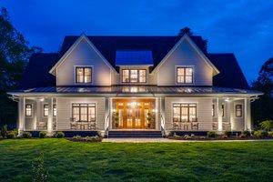 Home Plan - Farmhouse Exterior - Front Elevation Plan #51-1160