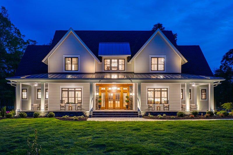 Architectural House Design - Farmhouse Exterior - Front Elevation Plan #51-1160
