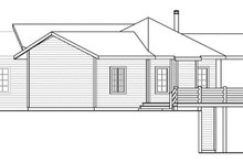Dream House Plan - Craftsman Exterior - Other Elevation Plan #124-853