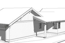 Home Plan - Left Rear