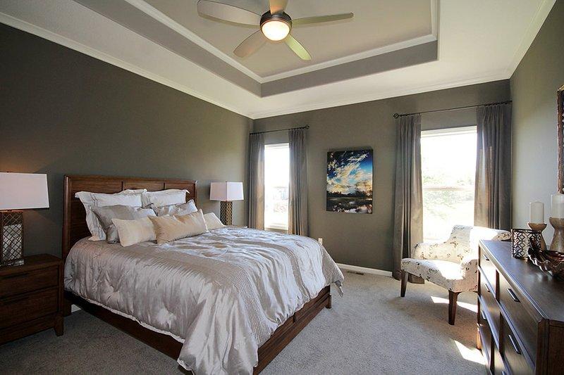 Mediterranean Interior - Master Bedroom Plan #20-2174 - Houseplans.com