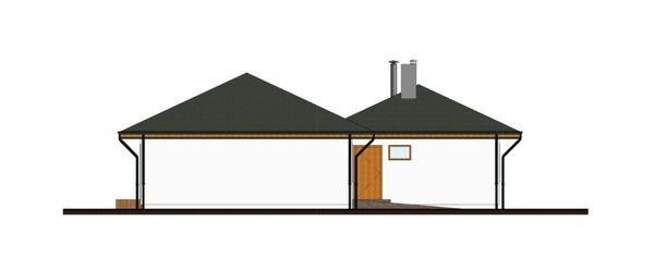 Bungalow Floor Plan - Other Floor Plan Plan #906-7