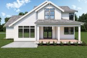 Craftsman Style House Plan - 3 Beds 2.5 Baths 2393 Sq/Ft Plan #1070-126 Exterior - Rear Elevation