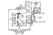 Farmhouse Style House Plan - 3 Beds 2.5 Baths 2090 Sq/Ft Plan #72-132 Floor Plan - Main Floor Plan