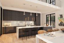 Modern Farmhouse style plan, modern design home, kitchen
