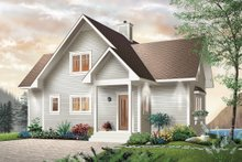 House Plan Design - Southern Exterior - Front Elevation Plan #23-2038