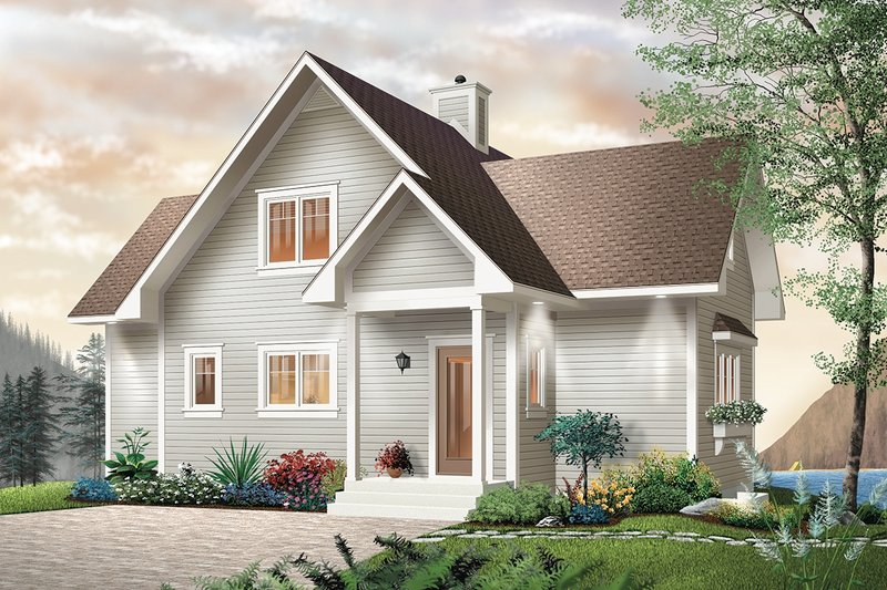 Southern Exterior - Front Elevation Plan #23-2038 - Houseplans.com