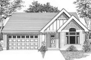 Traditional Style House Plan - 3 Beds 2 Baths 1512 Sq/Ft Plan #53-405 Exterior - Front Elevation