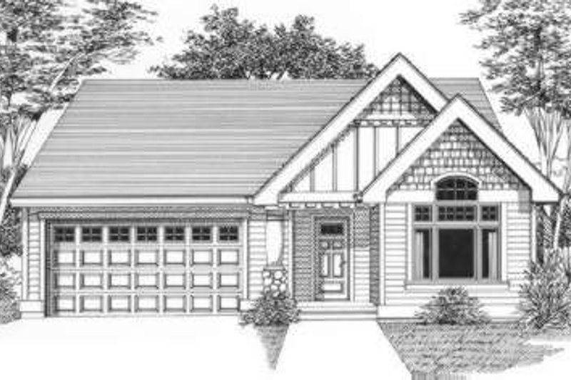 Traditional Style House Plan - 3 Beds 2 Baths 1512 Sq/Ft Plan #53-405