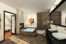 Country Interior - Master Bathroom Plan #23-406
