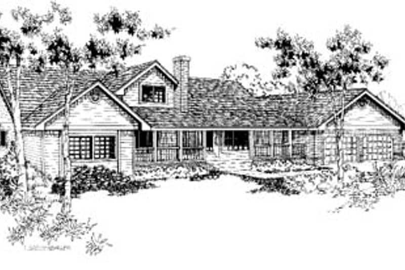 Traditional Exterior - Front Elevation Plan #60-160