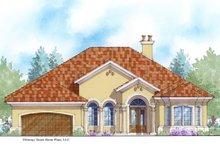 House Plan Design - Mediterranean Exterior - Front Elevation Plan #938-88