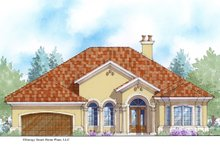 Home Plan - Mediterranean Exterior - Front Elevation Plan #938-88