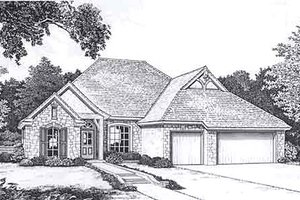 Traditional Exterior - Front Elevation Plan #310-911