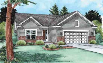 Ranch Exterior - Front Elevation Plan #20-1510