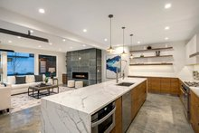 Modern Interior - Kitchen Plan #1066-3